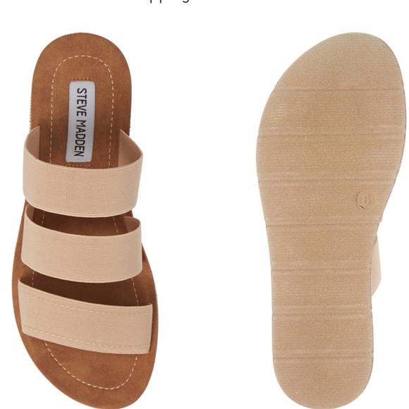 f5d1db8ef165 ... Fabric  Pascale Slide Sandals. Steve Madden.  M 5cc1040c264a550c40389690. M 5cc10411264a558b403896c9.  M 5cc10416c953d87f714d1bab